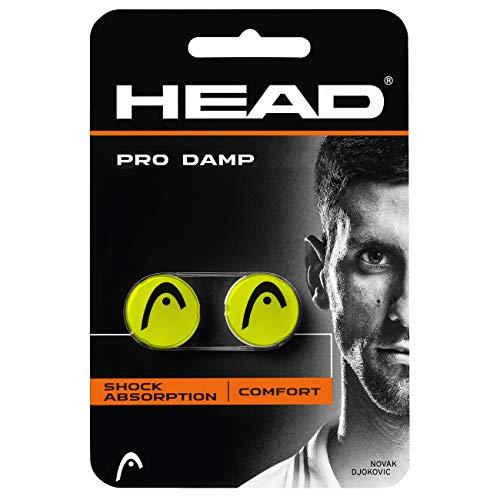 Head Pro Damp Antivibradores, Unisex Adulto, Amarillo, Talla Única