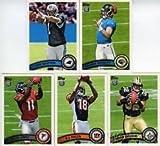 2011 Topps Football 5 Card Rookie Variation Pack From Factory Set Inc Cam Newton, Julio Jones, A.J. Green, Blaine Gabbert, Mark Ingram Rc. rookie card picture