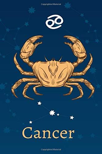Cancer: Zodiac Astrology Design Journal 6x9 (Astrology Notebook & Zodiac Gifts)
