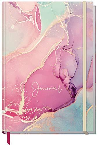 Bullet Journal Dotted A5 con banda de goma [Silky Pink] 156 páginas, cuaderno de puntos, diario de Trendstuff by Häfft | sostenible y climáticamente neutral