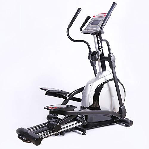 YAMMY Startseite Professionelle Crosstrainer, Cardio Home Office Fitness Workout-Maschine Mit 12 Widerstandsstufen Mit Quiet Bremssystem Max Benutzergewicht 150 Kg