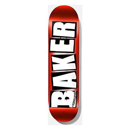 Baker Deck Brand Logo RED FOIL, red 8.0''