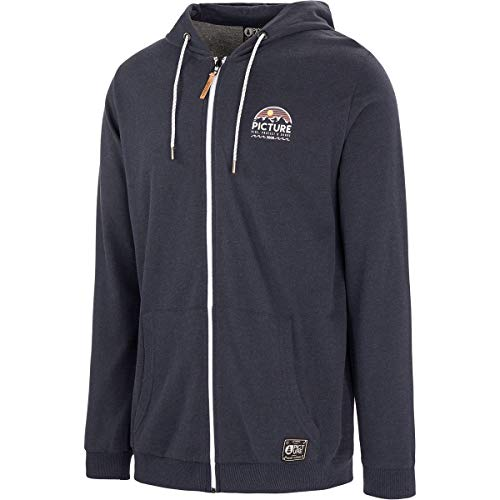 Picture Organic Sweat à Capuche Hamilton Zip Dark Blue