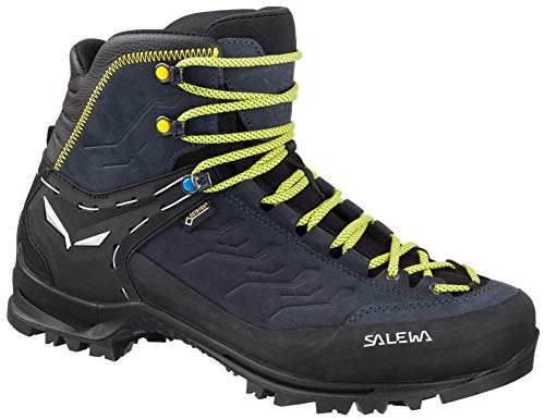 Salewa Ms Rapace Gtx, Botas de Senderismo Hombre, Multicolor (Night Black/Kamille 0960), 41