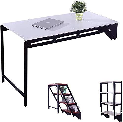 Aan de muur bevestigde klap tafel Opvouwbare muur gemonteerde tafel, transformeerbare tafel, apothekerskast, eettafel's table kinderen, ruimte besparing, milieubescherming ruimtebesparend