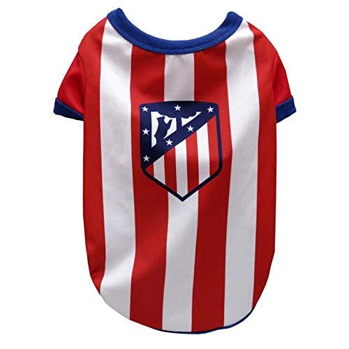 Atletico de Madrid SH-01M-ATL Camiseta para Perro, Talla M