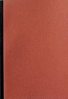 ショウエイドー A6ノート A6(48枚)5色ノート<さび>×10冊セット