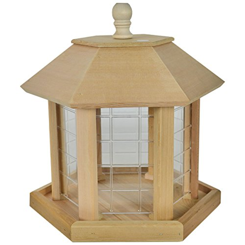 14 best cedar gazebo bird feeder for 2021