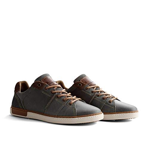 NoGRZ P.Parler Herren Leder Sneakers | Grau EU 44