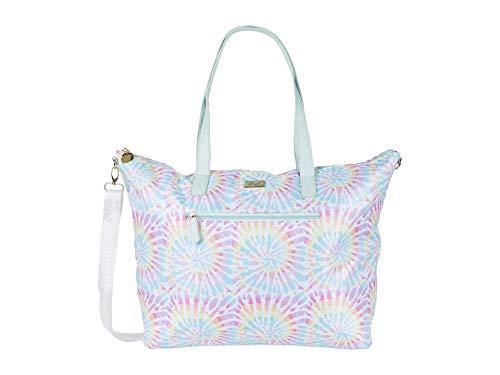 LUV BETSEY by Betsey Johnson Women's LBJAYCEE Weekender Bag, Tie Dye, 16.5' L x 15.25' H x 7' W