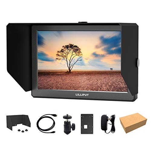 LILLIPUT A8S 8.9 Inch 350nits 3G-SDI Mini HDMI Monitor 3D-LUT Camera Field Monitor 4K HDMI 1920X1200 DSLR on-top Camera by LILLIPUT Official VIVITEQ