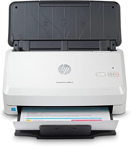 HP ScanJet Pro 2000 s2 - Escáner con alimentador de hojas, USB 3.0, 35 ppm (6FW06A)