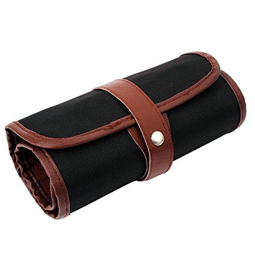 Estuche de lona para lápices de 36/48/72 agujeros, estuche enrollable, organizador de viaje, bolsa de almacenamiento para escuela, oficina, arte