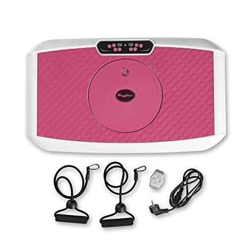 VITALmaxx Vibrationstrainer mit diversen Vibrationsstufen und Programmen, Verschiedene Modelle | Ganzkörpertraining zu Hause, inklusive Expanderbänder (Rose, Wayflex Trainer)