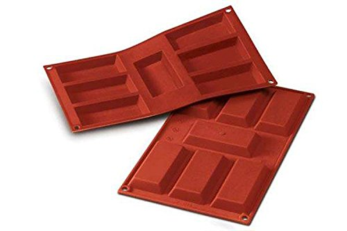 Silikomart 20.054.00.0060 SF 054 FINANZIERI - SILICONE MOULD 95X45 H 12 MM