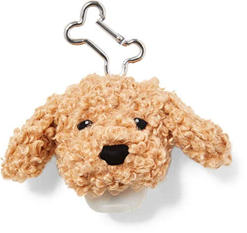 Hand Sanitizer Holder Compatible with Bath and Body Works Hand Sanitizer- Many Styles! (Fuzzy Puppy Dog)