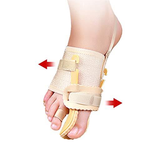 Driedimensionale bunion-correctoren, drukorthopedische bunion-spalkbrace, voor eeltknobbels, hallux valgus, artritis, voetenpijn