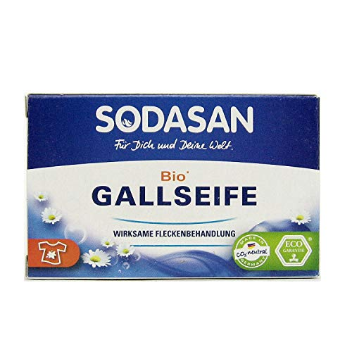 6x Sodasan Bio Gallseife 100 g