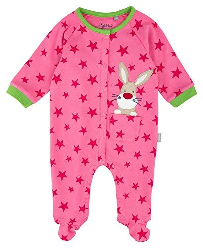 Sigikid Baby-Mädchen Overall Schlafstrampler, Rosa (Pink 613), 62 (Herstellergröße: 062)