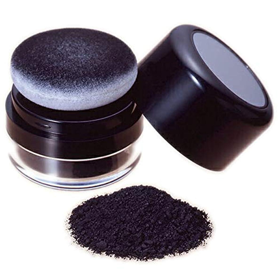 部屋を掃除するメロディアス馬力薄毛部分にミクロの粉でハゲ隠の黒い粉し【ヘ ア ー フ ァ ン デ ー シ ョ ン (黒色)