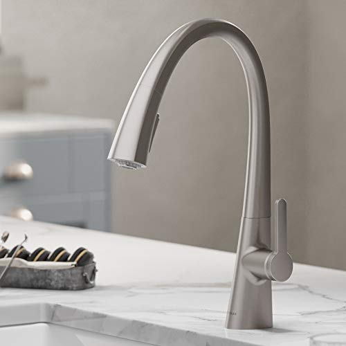 Product Image of the Kraus KPF-1673SFS Nolen Kitchen Faucet, Spot Free Stainless Steel