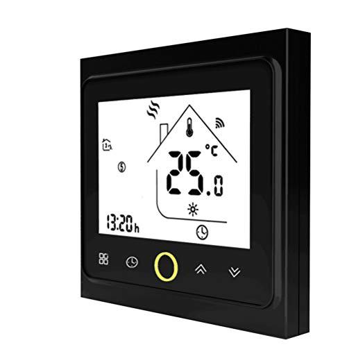 Qiumi Smart WiFi Thermostat Temperaturregler für Fußbodenheizung elektrisch arbeiten mit Amazon Alexa Google Home IFTTT 16A 95~240V