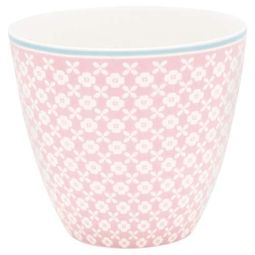 GreenGate - Tasse, Becher, Kaffeetasse, Latte Cup - HELLE - Porzellan - Pale pink/rosa - 300 ml