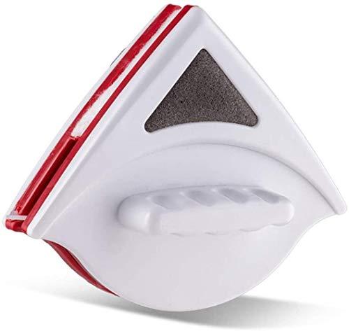 HSJ LF- Limpiador de Vidrio de Doble Cara magnético, Limpiador de Ventanas, Equipo de Cepillo de Limpieza del Planeador, limpiaparabrisas para un Vidrio Doble de 0,5-1 Pulgadas Limpio
