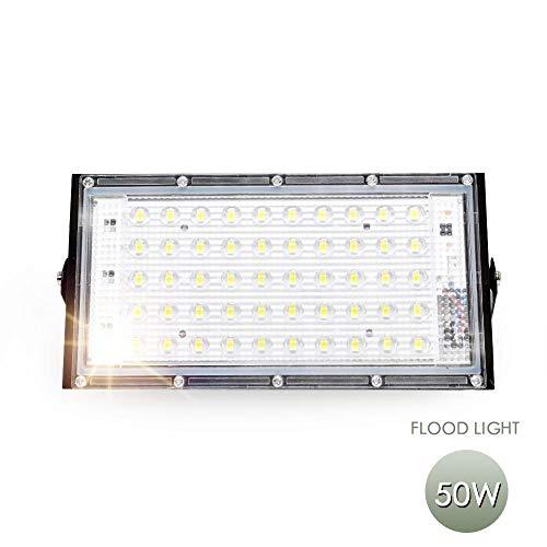 Faretto a led per esterni Faretto per esterno 10w 50w Rondella a parete Lampada Riflettore Giardino 220v 240v Rgb Illuminazione Ip65 Bianco caldo 50W