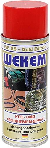 Wekem Spray per cinghia a cuneo e di trasmissione, 400 ml
