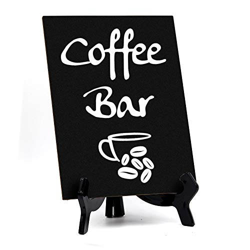 Signs ByLITA Coffee Bar, Table Sign, 6' x 8' (Black)