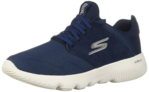 Skechers Women's GO Run FOCUS-15161 Sneaker, Navy, 5 M US