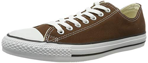 CONVERSE Chuck Taylor All Star Seasonal Ox, Unisex-Erwachsene Sneakers, Braun (Chocolate), 37 EU
