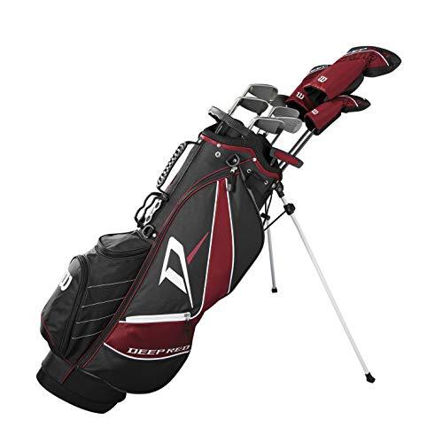 wilson Deep Red Tour Complete Golf Set Men's, Right Hand, Regular -  Wilson Sporting Goods