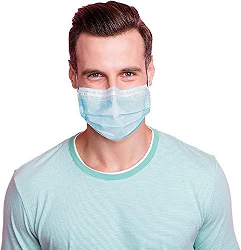 50 x OP-Mundschutz – TYP IIR (CE Zertifiziert) – Einmal Mundbedeckung aus Vlies (Versand aus Deutschland)