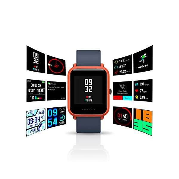 Fashion Shopping Amazfit BIP smartwatch by Huami with All-Day Heart Rate and Activity