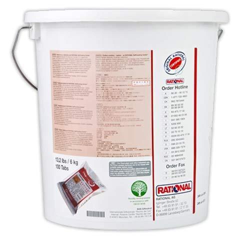 DOJA Industrial | Detergente Horno Rational | Detergentes 100 Units, Formato pastilla