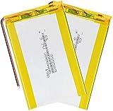355585 Batterie ai polimeri di litio 3.7 v 3000 mah Lipo per selfie Stick DVD Power Bank Torcia elettrica Registratore di guida 4 pezzi-1 pezzo