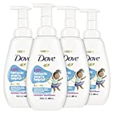 Dove Foaming Body Wash For Kids Cotton Candy Hypoallergenic Skin Care, 13.5 Fl Oz, Pack of 4