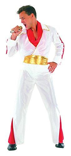 Bristol Novelty AC293 Costume da Rock Star per Adulti
