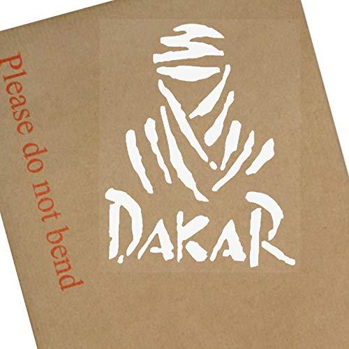 Platinum Place 1 Fenster innen Dakar weiß/transparent für Auto, Kinderwagen, Motorrad, LKW, Fahrzeug, Schild, Aufkleber, Januar, Peru, Wüste, Lima, Sand, Gravel, Dirt