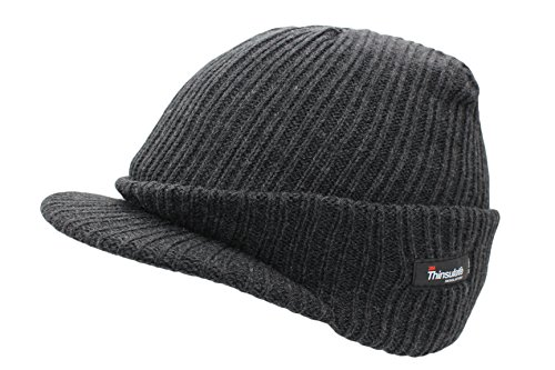 VIZ - Bonnet - Homme - Gris - Gris, One Size Fits Most