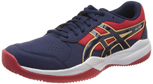 ASICS Unisex-Child Gel-Game 7 Clay/OC GS Running Shoe, Peacoat/Peacoat, 38 EU
