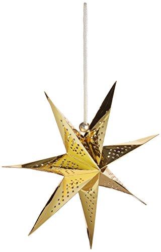 American Crafts Heidi Swapp 10268595Schablone zum 7-Punkt Star Papier Laterne 27,9cm Gold Folie, Acryl, Mehrfarbig