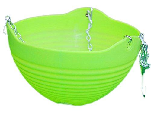 Pot en plastique par Outflower, pot à suspendre ou à poser, décoration de la maison, Plastique, Green, 13*20CM