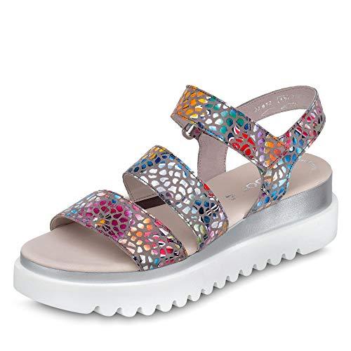 Gabor Damen Sandalette Größe 38.5 EU Beige (beige)