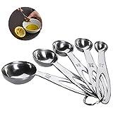 Cucchiai Dosatori Misurini in Acciaio Inox Measuring Spoons Preciso Cucina Misurini Cucchi...