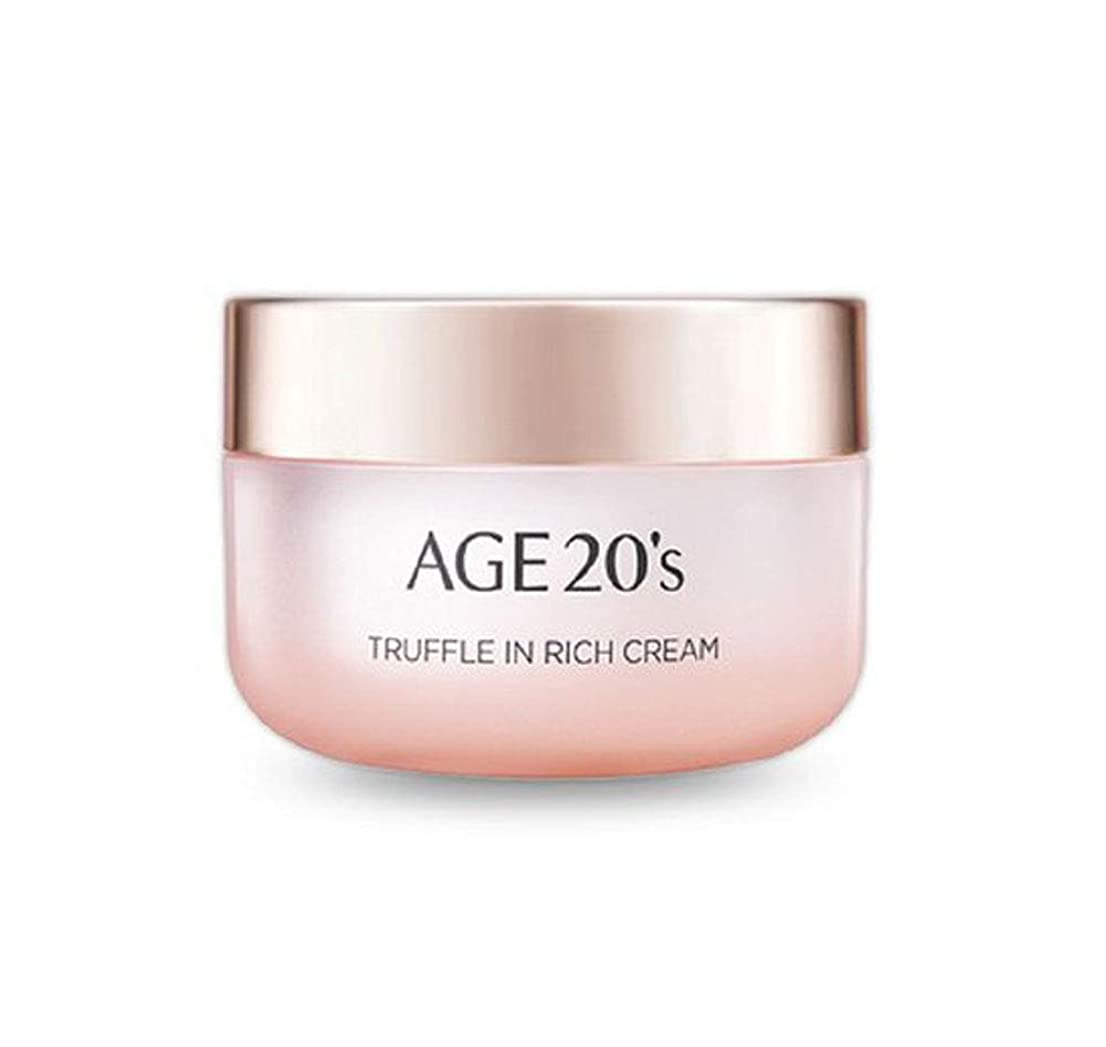 きしむ強化付き添い人エイジトゥエンティスAge20's 韓国コスメ トリュフリッチ クリーム 50g 海外直送品 Truffle in rich Cream [並行輸入品]