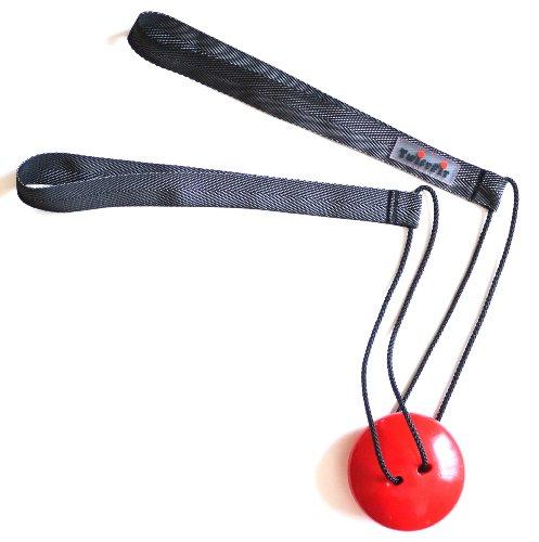 TwistFit® original u. patentiert - Fitness-Studio im Taschenformat, anthrazit-rot
