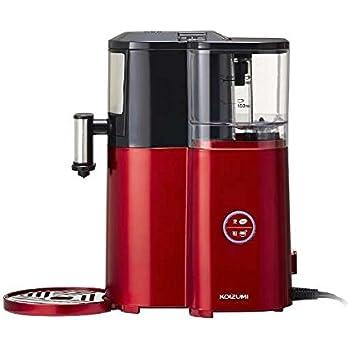 コイズミ 全自動コーヒーメーカー レッドKOIZUMI KKM-1001-R